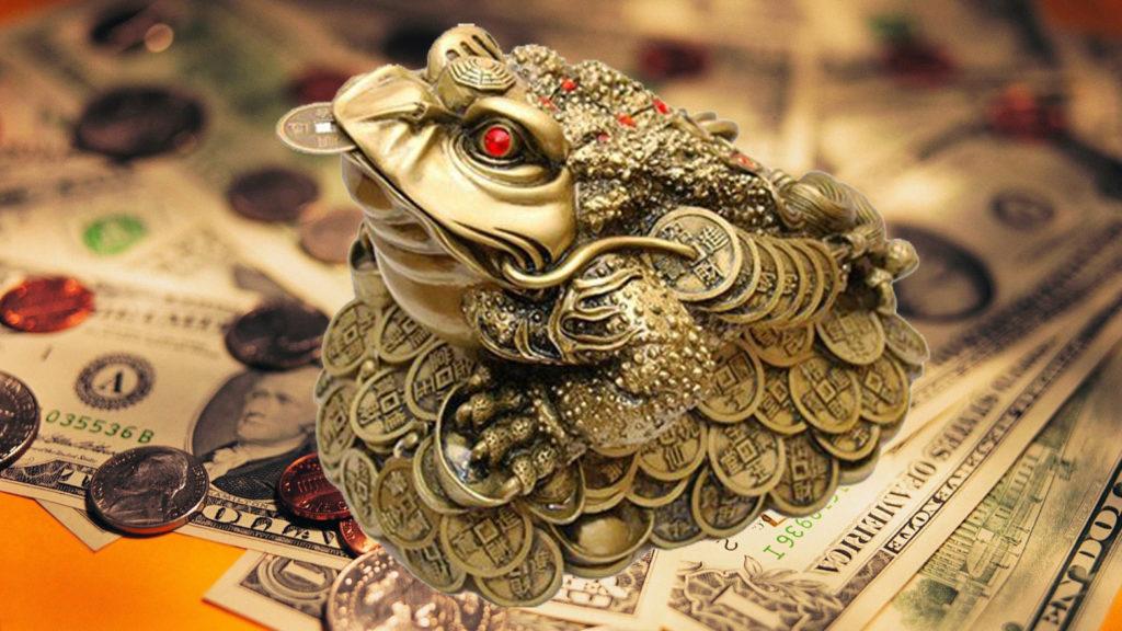 жаба талисман