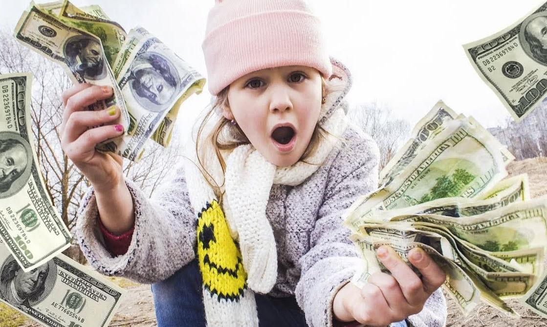 Как стать богатым? Да просто начать зарабатывать с детства